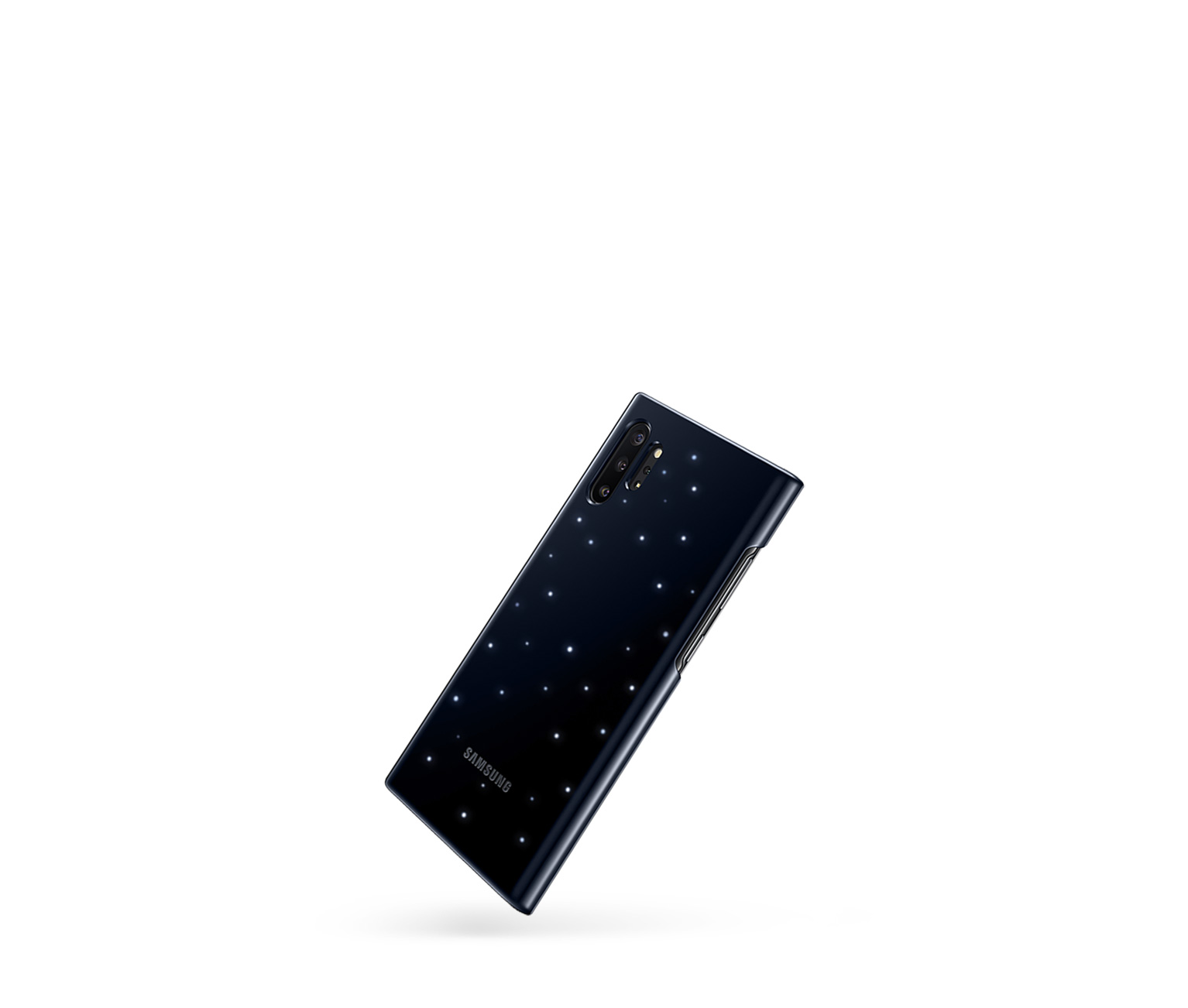 led cover samsung galaxy note 4 officielle noire