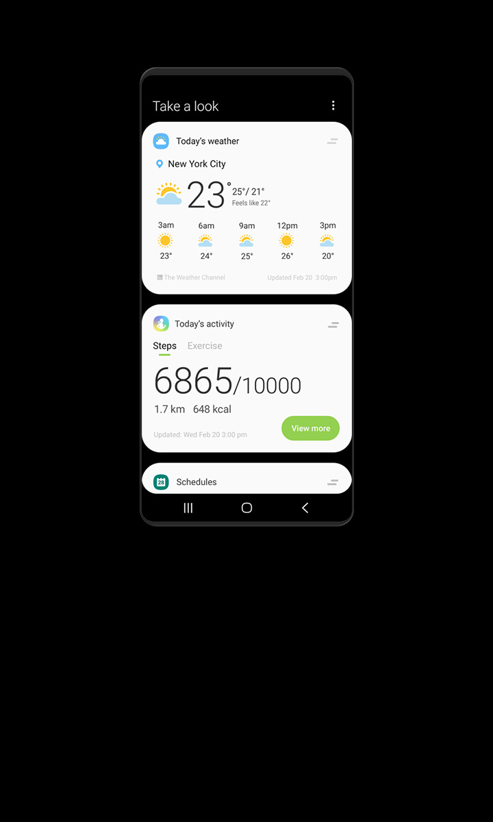 Bixby Home | Apps - The Official Samsung Galaxy Site