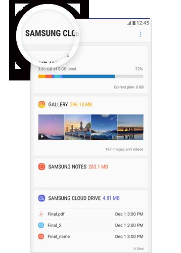 samsung cloud galerie