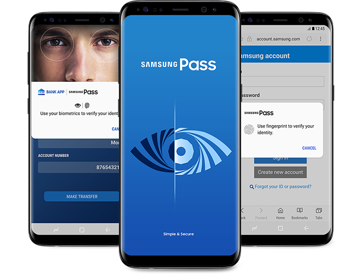 Samsung Pass | Apps - The Official Samsung Galaxy Site