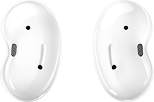 Galaxy Buds Live in Mystic White
