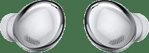 Galaxy Buds Pro earbuds in Phantom Silver.