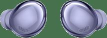 Galaxy Buds Pro earbuds in Phantom Violet.