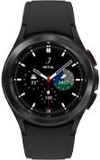 42mm black Galaxy Watch4 Classic with black strap