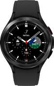 46mm black Galaxy Watch4 Classic with black strap