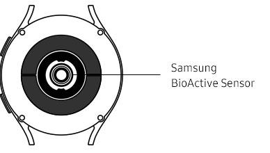 40mm Galaxy Watch4 sensor information