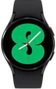 40mm black Galaxy Watch4 with black strap