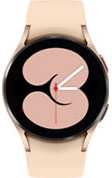 40mm pink gold Galaxy Watch4 with pink strap