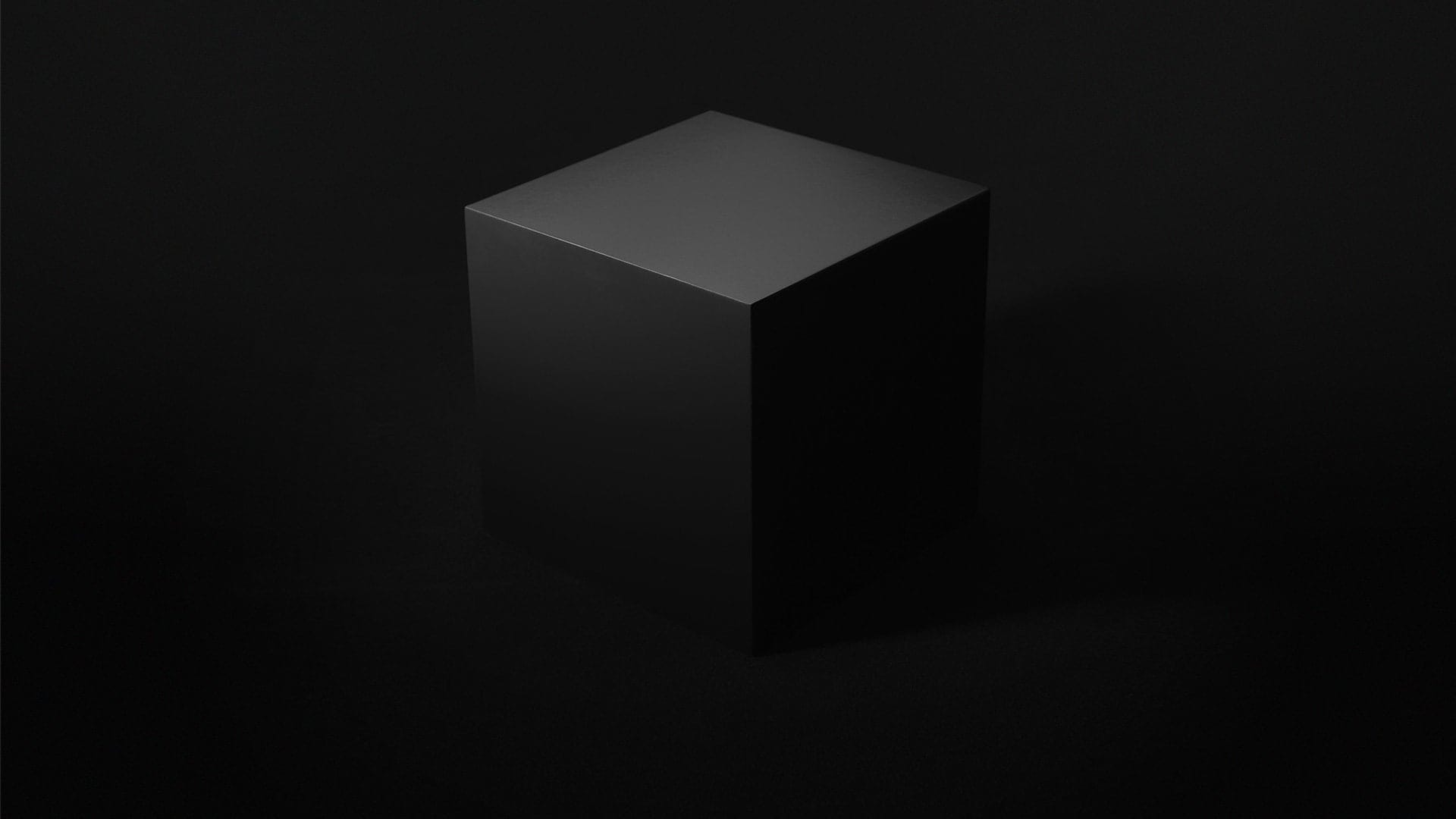 A box with light shining through the edges