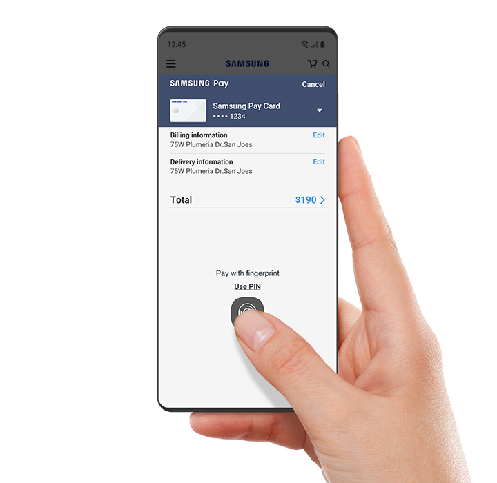 Samsung Pay | Apps - The Official Samsung Galaxy Site