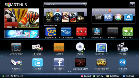 how to watch netflix on samsung smart tv outside us