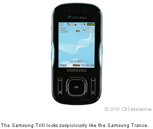 The Samsung Trill looks suspiciously like the Samsung Trance.