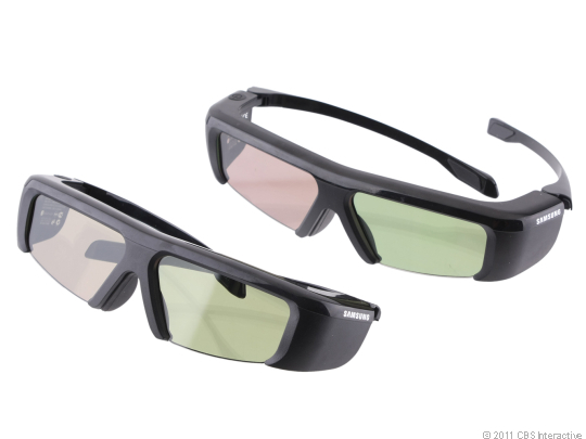 Samsung throws in two pairs of 3D glasses