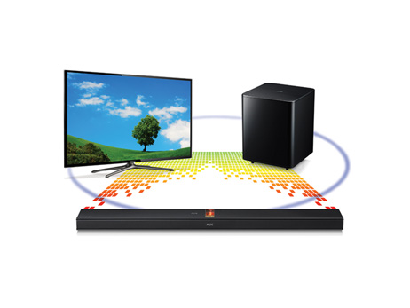 how to connect subwoofer to samsung led tv