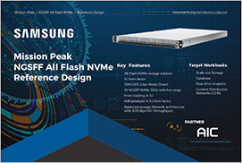 Mission Peak NGSFF All Flash NVMe Reference Design