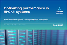 Optimizing performance in HPC/AI systems