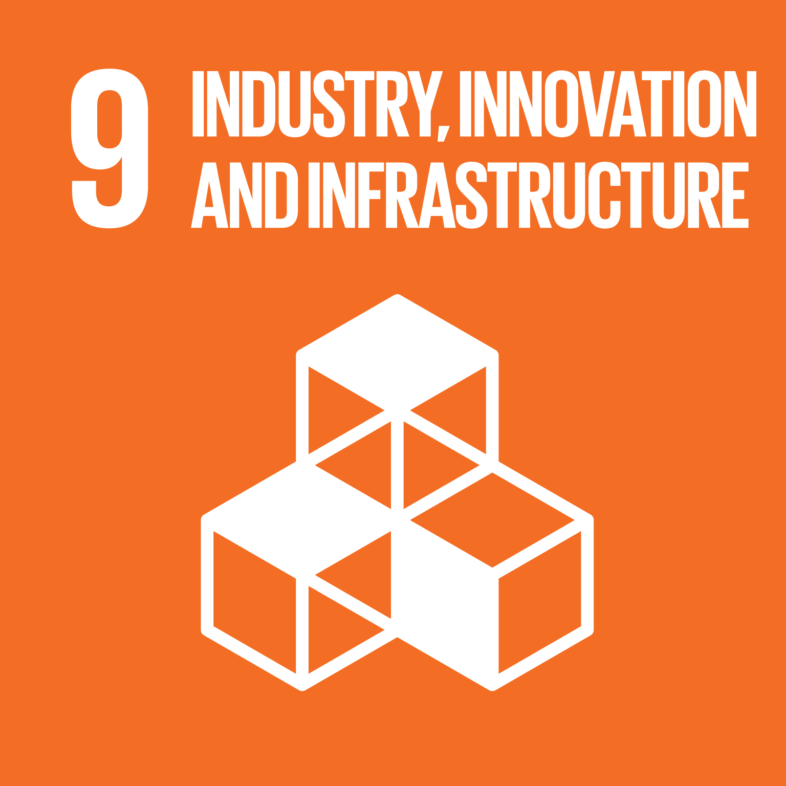 Representative image of SDG innovation and infrastructure