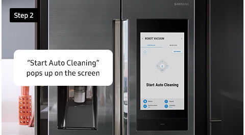 """Start Auto Cleaning"" pops up on the screen"