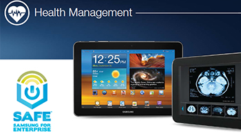 Galaxy Tab Health Management