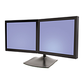 Ergotron DS100 Horizontal Dual-Monitor Desk Stand