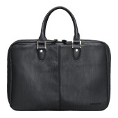 "15.6"" Synthetic Leather Briefcase (Black)"