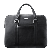 "Premium Slim Briefcase for ATIV PC 14"" - Black"