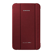 "Galaxy Tab 3 8.0"" Book Cover, Red"