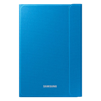 "Galaxy Tab A 8.0"" Canvas Book Cover - Solid Blue"