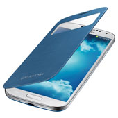 Galaxy S 4 S-View® Flip Cover, Pebble Blue