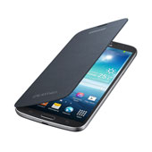 Galaxy Mega Flip Cover, Black