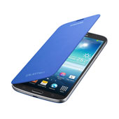 Galaxy Mega Flip Cover, Light Blue