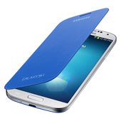 Galaxy S 4 Flip Cover, Light Blue
