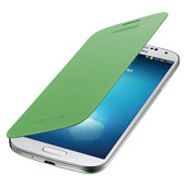Galaxy S 4 Flip Cover, Green