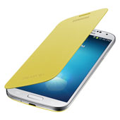 Galaxy S 4 Flip Cover, Yellow