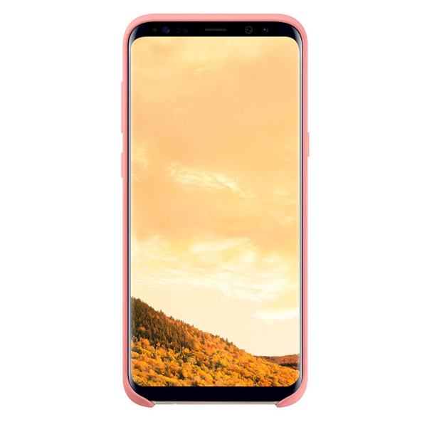 Galaxy S8+ Silicone Cover, Pink