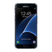 Galaxy S7 Protective Cover, Clear Black