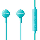 HS130 Wired Headset w/ Inline Mic, Light Blue