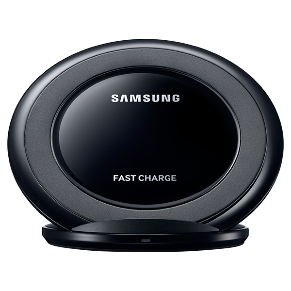 Fast Charge Wireless Charging Stand, Black Sapphire