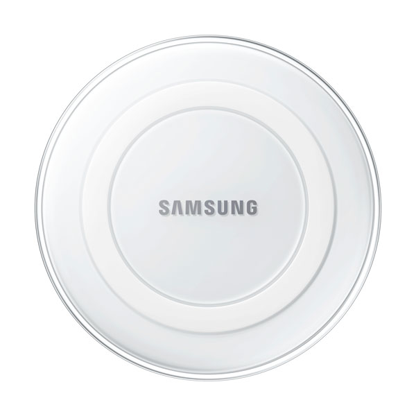 Wireless Charging Pad, White Pearl