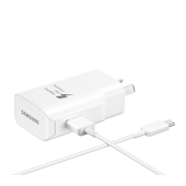 25W USB-C Fast Charging Wall Charger (Detachable USB-C/USB Cable)