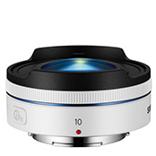 10mm f3.5 Fisheye Lens (White)