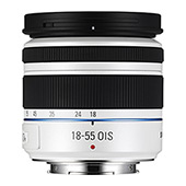 Compact 18-55mm OIS Zoom NX Lens - White