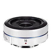 16mm F2.4 Ultra wide pancake lens - White