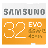 SDHC 32GB EVO Memory Card