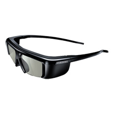 3D Battery Operated Active Glasses for 2011 Samsung 3D TVs