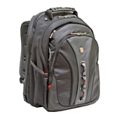 "SwissGear Black 15.6"" Legacy Notebook Backpack"