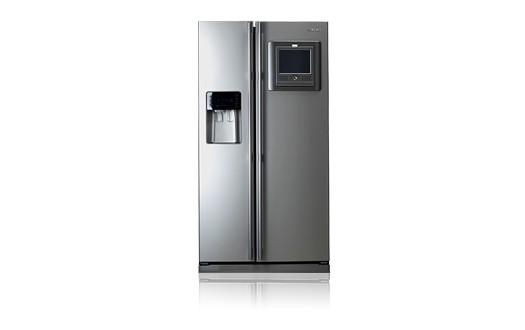 Samsung Refrigerator with Wireless ICE Pad on door