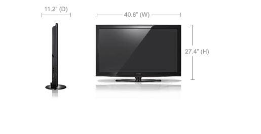 Samsung PN43D440A5D Plasma TV Windows Vista 64-BIT