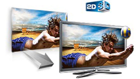 Captivating 2D & 3D in Full HD 1080p