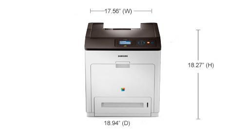 Specs - Color Laser Printers CLP-775ND | Samsung Printers